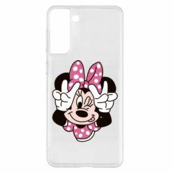 Чохол для Samsung S21+ Minnie Mouse