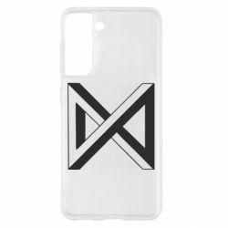 Чохол для Samsung S21 Monsta x simbol