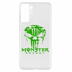 Чохол для Samsung S21+ Monster Energy Череп