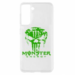 Чохол для Samsung S21 Monster Energy Череп