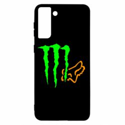 Чохол для Samsung S21+ Monster Energy FoX