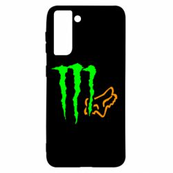 Чохол для Samsung S21 Monster Energy FoX