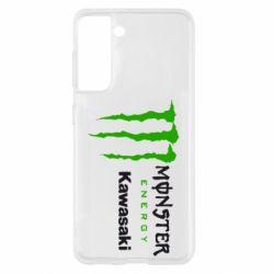 Чохол для Samsung S21 Monster Energy Kawasaki