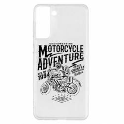 Чехол для Samsung S21+ Motorcycle Adventure