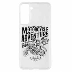 Чехол для Samsung S21 Motorcycle Adventure
