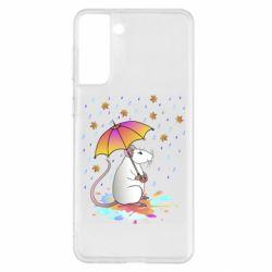 Чохол для Samsung S21+ Mouse and rain