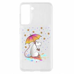 Чохол для Samsung S21 Mouse and rain