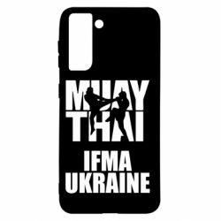 Чехол для Samsung S21 Muay Thai IFMA Ukraine