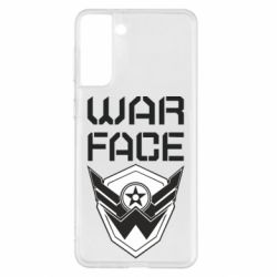 Чохол для Samsung S21+ Напис Warface