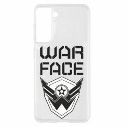 Чохол для Samsung S21 Напис Warface