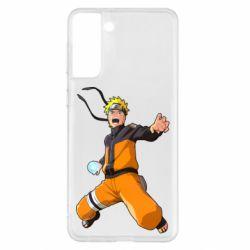 Чохол для Samsung S21+ Naruto rasengan