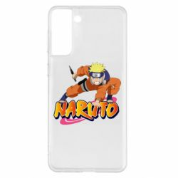 Чохол для Samsung S21+ Naruto with logo