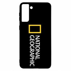 Чохол для Samsung S21+ National Geographic logo