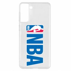 Чехол для Samsung S21+ NBA Logo