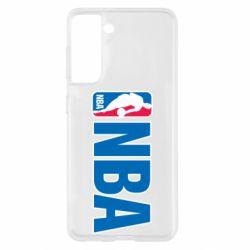 Чехол для Samsung S21 NBA Logo