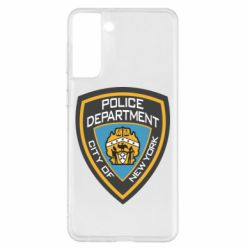 Чехол для Samsung S21+ New York Police Department