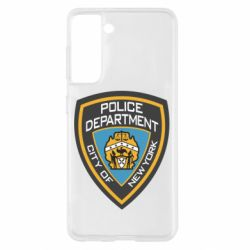 Чохол для Samsung S21 New York Police Department