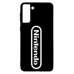 Чохол для Samsung S21+ Nintendo logo