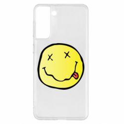 Чохол для Samsung S21+ Nirvana Logo 3D