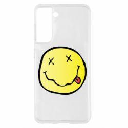 Чохол для Samsung S21 Nirvana Logo 3D