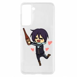 Чохол для Samsung S21 Noragami and drink