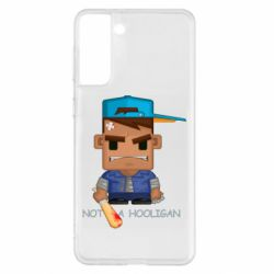Чохол для Samsung S21+ Not a hooligan