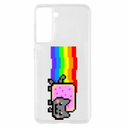 Чохол для Samsung S21 Nyan cat
