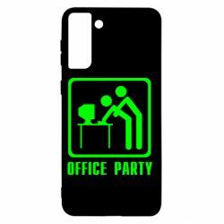 Чохол для Samsung S21+ Office Party