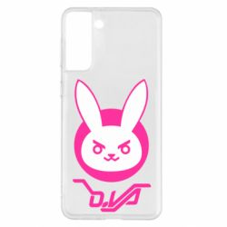 Чехол для Samsung S21+ Overwatch dva rabbit