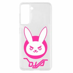 Чехол для Samsung S21 Overwatch dva rabbit