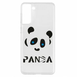 Чохол для Samsung S21+ Panda blue eyes