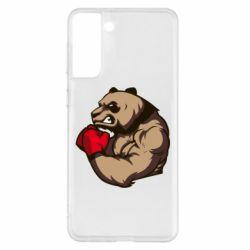 Чехол для Samsung S21+ Panda Boxing