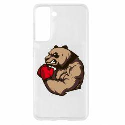 Чехол для Samsung S21 Panda Boxing