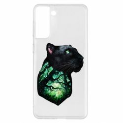 Чохол для Samsung S21+ Panther and Forest