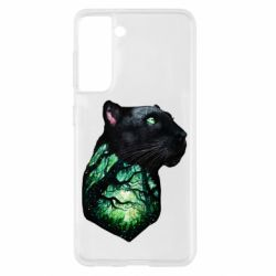 Чохол для Samsung S21 Panther and Forest