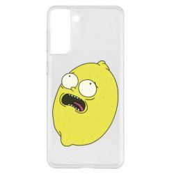 Чохол для Samsung S21+ Pickle Rick Sanchez