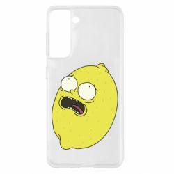 Чохол для Samsung S21 Pickle Rick Sanchez