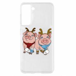 Чохол для Samsung S21 Pigs