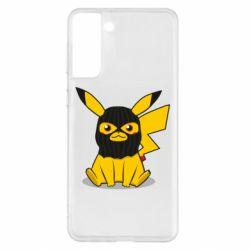 Чохол для Samsung S21+ Pikachu in balaclava