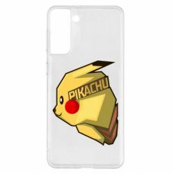 Чохол для Samsung S21+ Pikachu