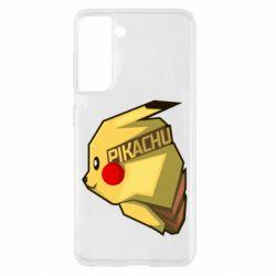 Чохол для Samsung S21 Pikachu