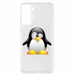 Чохол для Samsung S21 Пінгвін