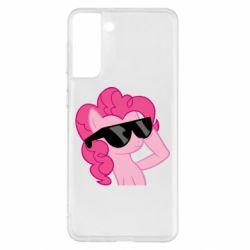 Чехол для Samsung S21+ Pinkie Pie Cool