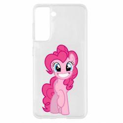 Чехол для Samsung S21 Pinkie Pie smile