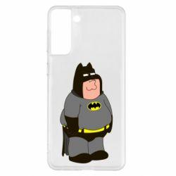 Чохол для Samsung S21+ Пітер Гріффін Бетмен