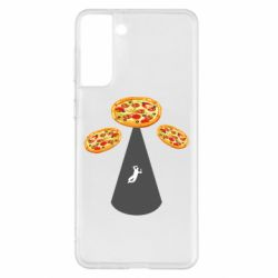 Чохол для Samsung S21+ Pizza UFO