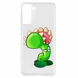 Чохол для Samsung S21+ Plants flower