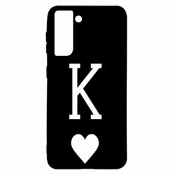Чохол для Samsung S21 Playing Cards King