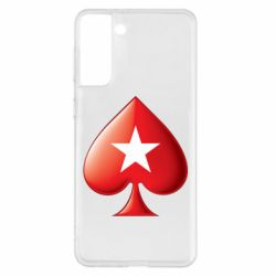 Чохол для Samsung S21+ Poker Stars 3D Logo