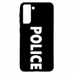 Чехол для Samsung S21 POLICE